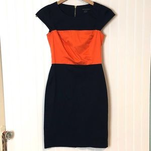 #190957 French Connection colorblock Dress